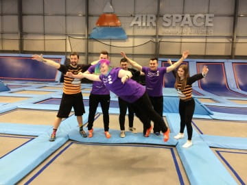 Airspace EK take one giant leap for SBH Scotland