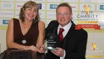 SBH Scotland win National Charity of the Year