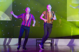 Tommy and Piotr dazzle with their jive