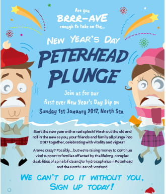Peterhead Plunge for the Braaave