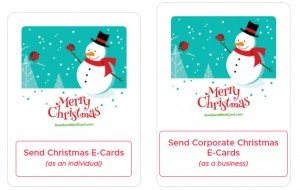 Individual and Charity Greeting ECards