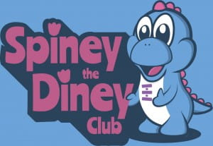 Spiney the Diney Club Logo